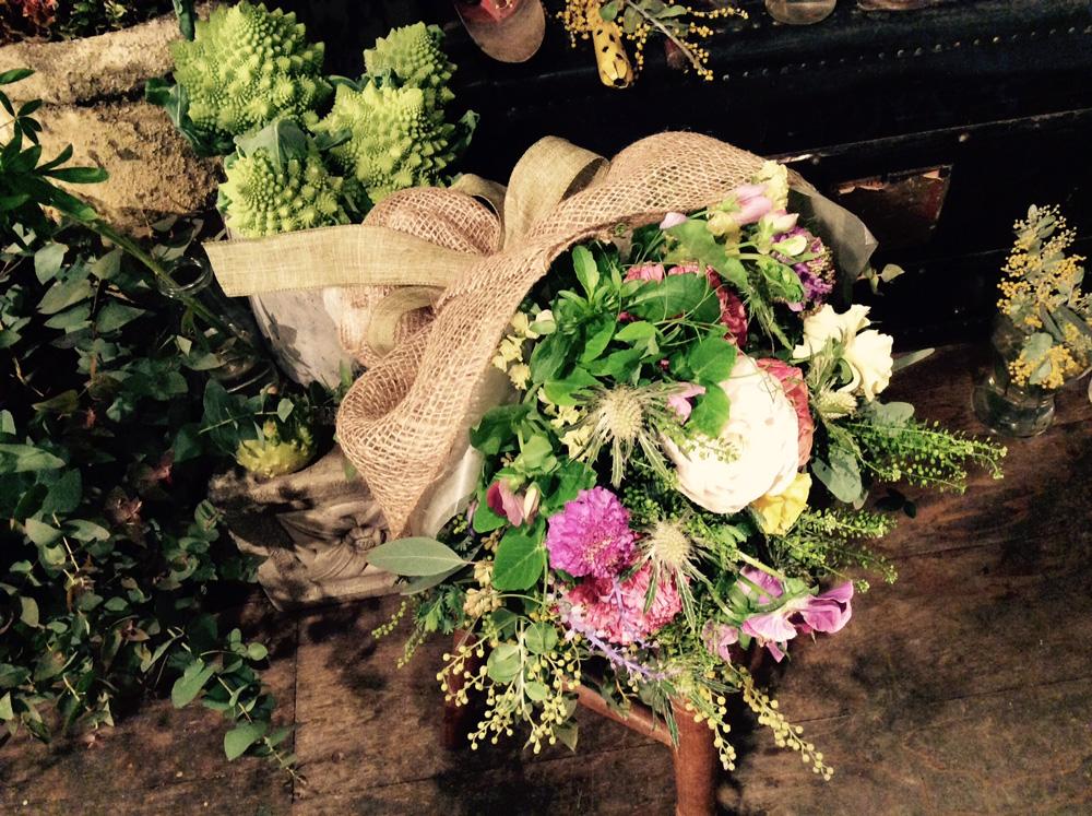 結婚記念日の花束